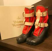 Vivienne Westwood Boots Used Rare F/s Japan Authentic Size Uk6 7.5 Approx