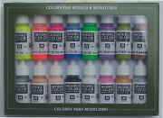 Model Color Vallejo 70112 Wargame Special 16x 17ml Airbrush Farbe