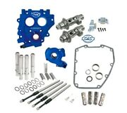 Sands 551ce Easy Chain Drive Camshaft Cam Chest Plate Pushrod Kit Harley 06-17 550