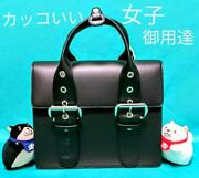 Vivienne Westwood Hand Bag Black Women Ladies Fashion Made In Italy Authentic