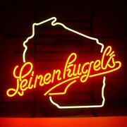 Neon Signs Leinenkugels Wiscons Beer Bar Pub Party Homeroom Decor For Gift 19x15