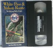 White Pass And Yukon Route 2001 Vhs Railway Gold Locomotive Trains