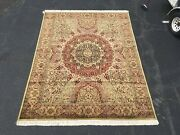9x11 Handknotted Sarouk Style Area Rug At Raleigh Furniture Gallery