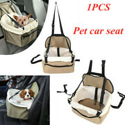Lookout Pet Dog Car Seat For Car Safety Booster Seat Soft Bed 1pc