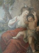 Early 1800s Oval Print In Classical Style Ideal To Remount And Frame  Miniature