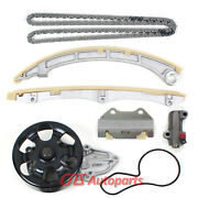 Timing Chain Water Pump Kit W/o Gears For 02-11 Honda 2.4l K24a2 K24a4 K24a8