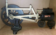 Antique Stansi Cast Iron Steam Engine Classroom Demonstrator 1920and039s-1950and039s