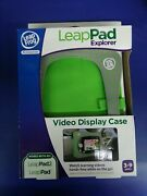 Leap Frog Accessories Leap Pad Explorer 1 And 2 Video Display Green Case Sealed