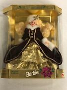 New Happy Holidays 4th In Series 1996 Barbie Doll Special Edition In Box 15646