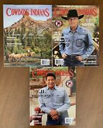 Cowboys And Indians Magazine Lot Ed Harris Gil Birmingham Visions Of The West