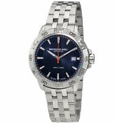 Raymond Weil Menand039s 8160-st2-50001 And039tangoand039 Stainless Steel Watch - Blue