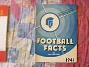 1941 Michigan State Spartans Football Media Guide Yearbook Program Press Book Ad