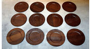 Jens Quistgaard For Kronjyden Complete For 12 Persons Cover Plates In Rosewood.