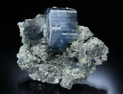 Top Quality Blue Apatite From Panasqueira Mine Portugal.