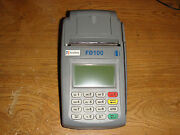 First Data Fd100 Ip Credit Card Machine No Account Required