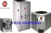 2 Ton1 4seer 50k 80 Complete Gas System Condenser And Evaporator Coil And Furnace