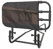 Stander Ez Adjust Bed Rail For Elderly Adults Home Bed Railing And Assist Handle