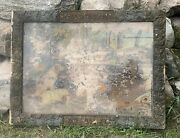 Rare Antique 1880s Applegate And Sons Reverse Painted Whiskey Sign Louisville Ky