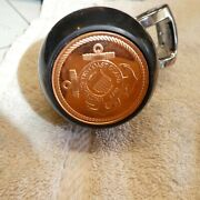 Us Coast Guard .999 Copper Coin Steering Wheel Suicide Knob Spinner Fits Most