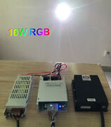 10000mw/10w Rgb White Laser Module/combined By 520nm+638nm+450nm /analogue/ttl