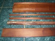 Antique Walnut Carved Trim Woodwork Salvaged Pieces Mixed Lot