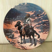 Indian Trapper Collector Plate Masterpieces Of Western Art Series 8.5 Diam