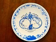 Holland America Line 2014 Grand Pacific And Far East Cruise Commemorative Plate