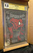 Stan Lee Signed Spiderman 1 Cgc 9.8 Ss Stan Lee And Todd Mcfarlane 2x Signed Rare