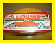 1/20 126c2 West Usa Gp 82 Model Kit 1/20 Scale Full Ditail Kit Rare Collectible