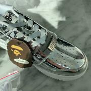 Bape A Bathing Ape Size Sneakers Men Casual Shoes Rare Collectible F/s Japan