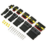 240pcs/set Car Electrical Wire Connector Terminal 1/2/3/4/5/6 Pin Way Blade Fuse