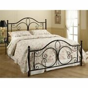 Hillsdale Milwaukee Twin Poster Bed In Antique Brown