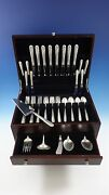 Madeira By Towle Sterling Silver Flatware Service For 8 Set 46 Pieces