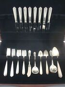 Lady Hilton By Westmorland Sterling Silver Flatware Service Set 52 Pieces