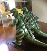 Godzilla Tin Toy Figure Collectible Japan Movie Decor Figurine With A Case F/s