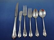 Grand Colonial By Wallace Sterling Silver Flatware Set For 8 Service 52 Pieces