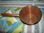 Ruffoni 10 1/2'' X 6'' Copper Pot, Hand Hammered On The Outside