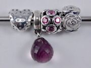 Pandora Sparkle Of Love Charm 1 Only Valentines 2014 Retired One Charm New