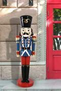 72 Nutcracker 6ft Statue Large Christmas Decoration Collectible