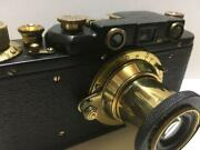 Reica Camera Authentic Rare Collectible Hobby Gold Black Not Tested Japan F/s
