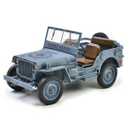 118 Jeep Willys Mb Shore Patrol 1941 Military Diecast Car Model Collection