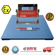 Ntep 48x60 Certified Explosion Proof Intrinsically Safe Floor Scale 10000 Lb
