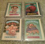 Rare Vintage Gpk Garbage Pail Kids 1985 And 1987 Lot Of 4 Cards Error Miscut Off