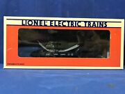Lionel 6-16952 Us Navy Flat Car With Ertl Helicopter O Scale Train Free Shipping