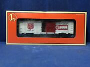 Lionel 9700 Bc Salvation Army Box Car 6-26256 O Scale Trains Free Shipping