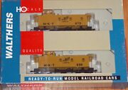Walthers 932-27509 30' Wood Caboose 3 Window Offset Cupola 2-pk M-k-t 873, 896