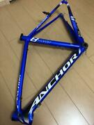 Anchor Bike Frame Blue Rare Bicycle Parts Collectible Rs8 Used Japan Authentic