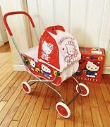 Hello Kitty Toy Stroller Vintage Size Large L 1991 Model Collectible Japan Anime