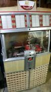 1953 Ami E80 Jukebox Finish Brown Cabinet Plays 45s E-80 Record Changer 700