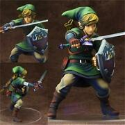 New The Legend Of Zelda Link Breath Of The Wild Pvc Action Figures Collectible M